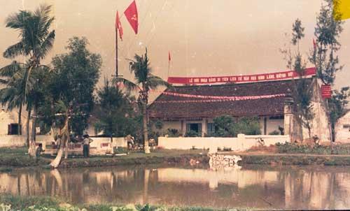 Đình làng Quỳnh Đôi